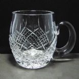 Lead Crystal Barrel Tankard PERSONALISED ref CCBT